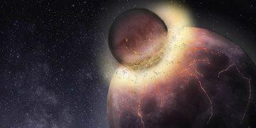 La vida en la Tierra surgió por la colisión que formó la Luna
