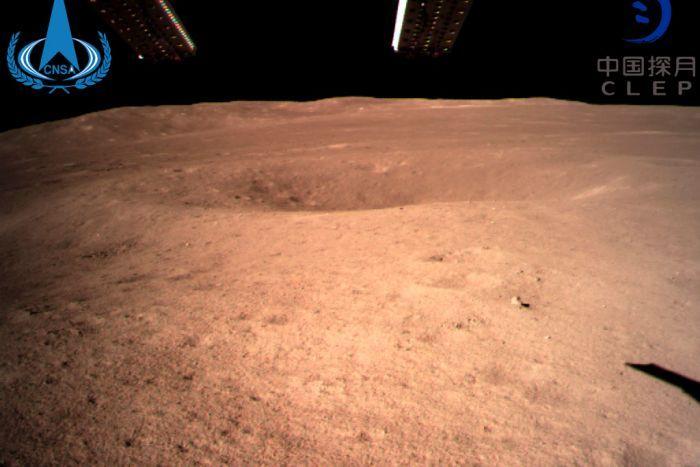 Primera imagen enviada del lado oculto de la Luna