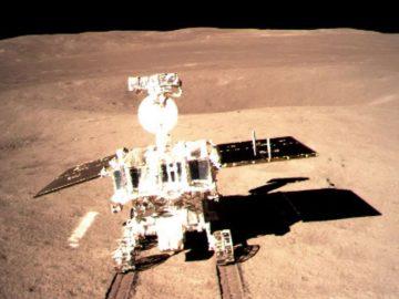 Nave china Chang'e 4 lanza su vehículo en el lado oculto de la Luna luego de su histórico aterrizaje