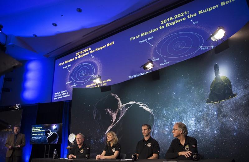 Científicos de la misión New Horizons