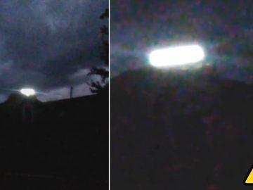 OVNI aterriza en una montaña ante la mirada de testigos