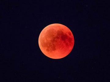 Prepárate para la superluna de sangre de enero
