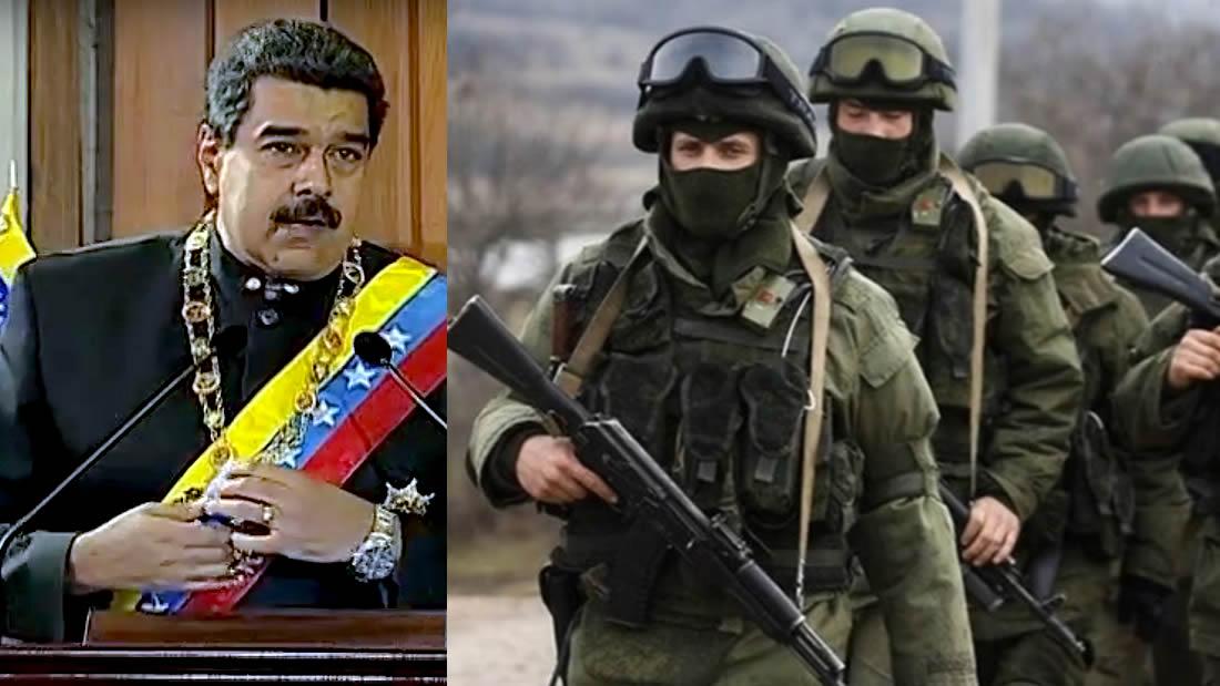 Rusia envía mercenarios a Venezuela para proteger el régimen de Maduro
