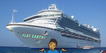 Terraplanistas están organizando un viaje crucero «a lo grande» para demostrar que la Tierra es plana