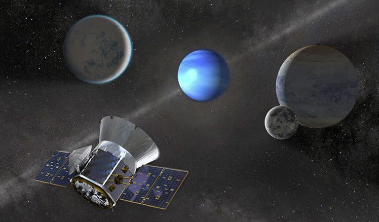 TESS halla su tercer planeta, con la órbita más larga hasta ahora