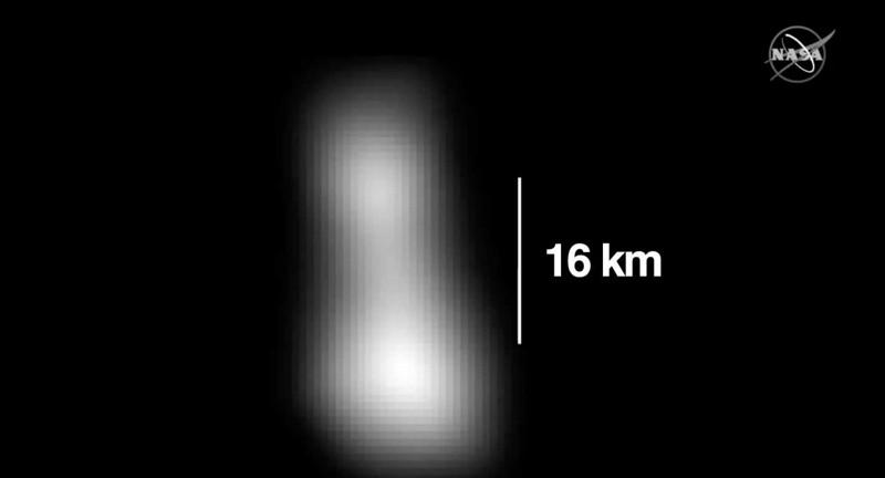 Primeras imágenes del planeta enano Ultima Thule