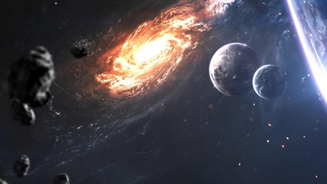 Una galaxia se está aproximando y podría activar un agujero negro que destruiría la Vía Láctea