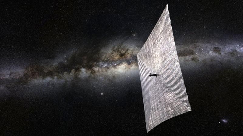Avi Loeb y un colega especularon que un hipotético dispositivo de propulsión, llamado vela solar podría explicar la extraña trayectoria de 'Oumuamua