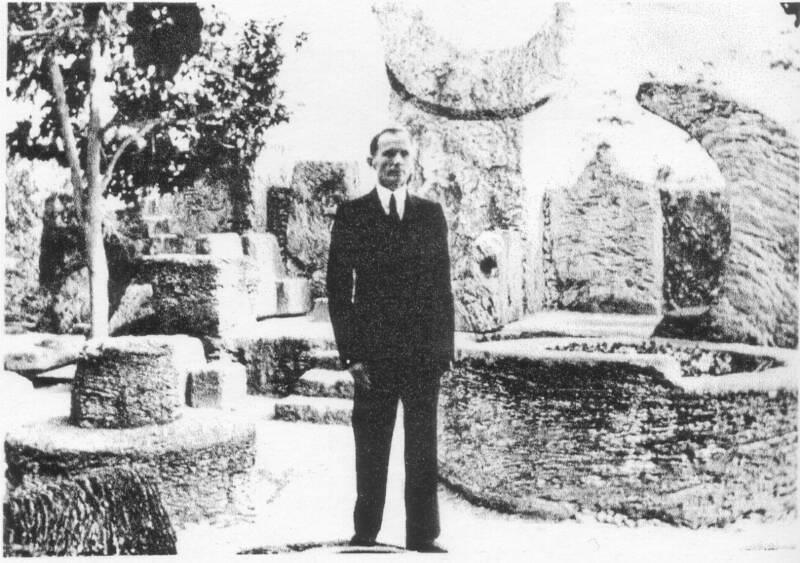 Edward Leedskalnin y su fantástico Castillo de Coral, que tardó veintiocho años en construir
