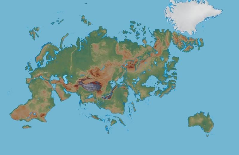 Amasia, el futuro supercontinente de la Tierra