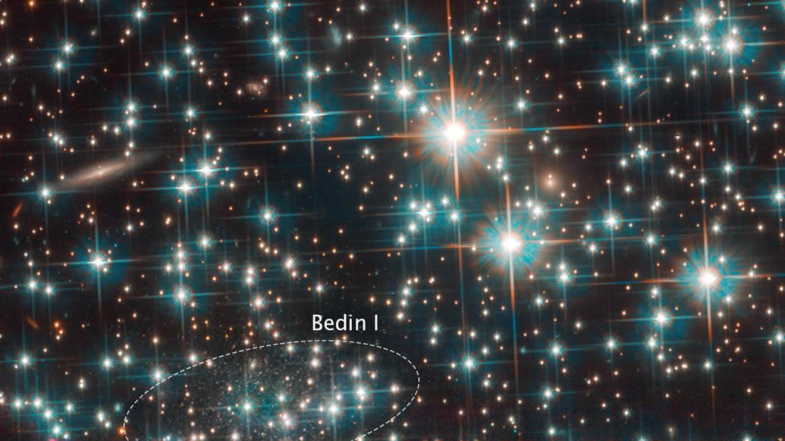 Astrónomos descubren accidentalmente una galaxia diminuta en nuestro «patio trasero»