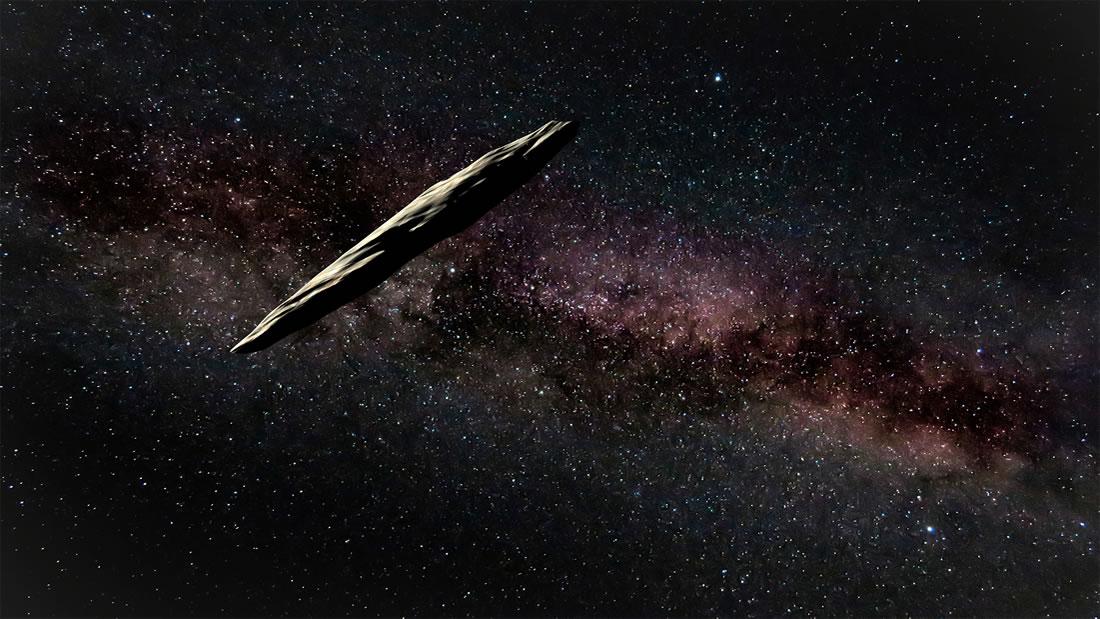 Astrónomo de NASA no cree que Oumuamua sea una nave alienígena
