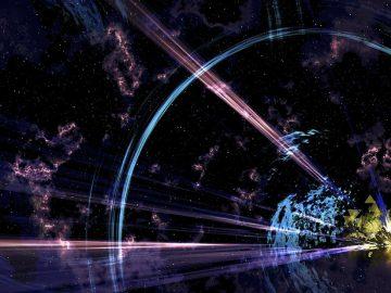 Astrónomos detectan un rayo que atraviesa el espacio a una gran velocidad