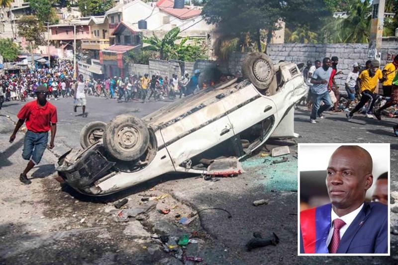 Haití continúa paralizado en medio de violentas protestas convocadas por sectores de la oposición y grupos sociales de la gestión del presidente Moise.