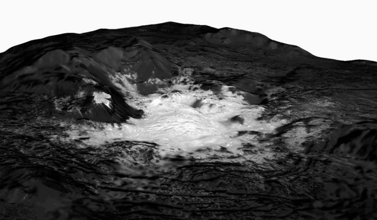 Descubren que Ceres, el planeta enano, tuvo agua durante varios millones de años