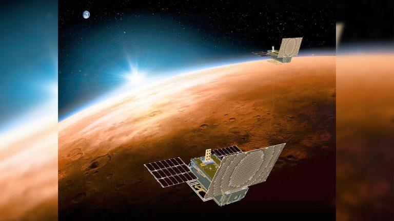 Dos satélites de NASA se pierden luego de volar por Marte