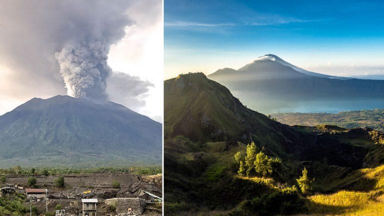 Dos volcanes en Bali están conectados de forma subterránea y podría explotar como en 1963 matando a 1.600 personas