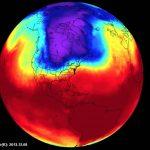Este es el vórtice polar que causó el frío extremo en EE.UU.