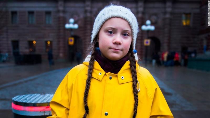 Greta Thunberg, la joven líder que lleva su mensaje de protesta contra el cambio climático alrededor del mundo.