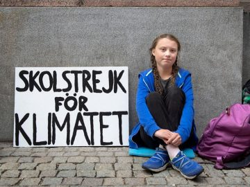 Greta Thunberg, la niña de 15 años que encabeza la lucha mundial contra el cambio climático