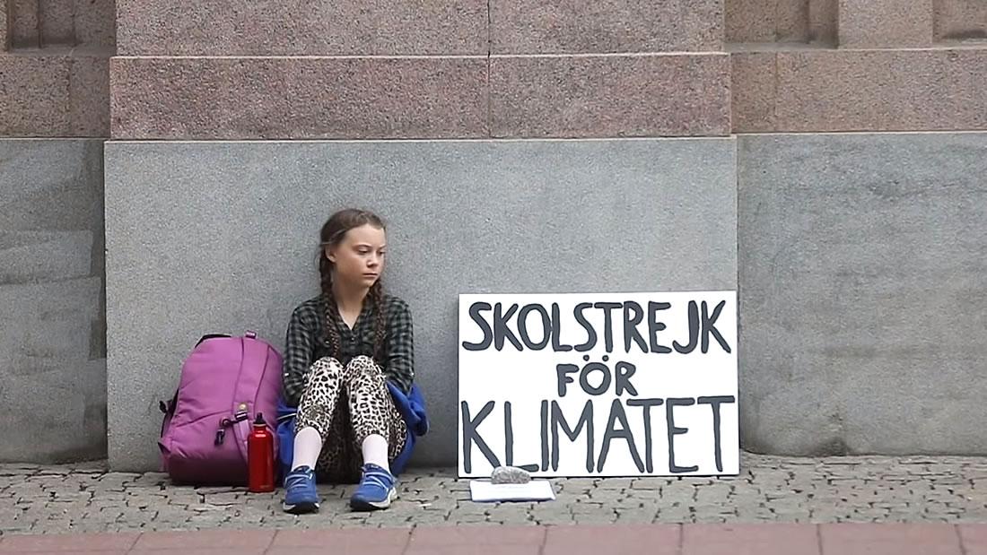Greta Thunberg, la niña que lidera la lucha mundial contra el cambio climático