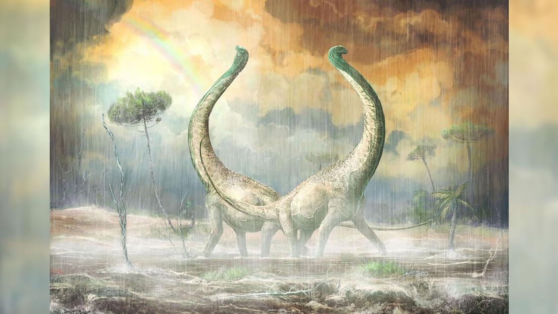 Hallan un dinosaurio con hueso en forma de corazón que vivió hace 100 millones de años en África
