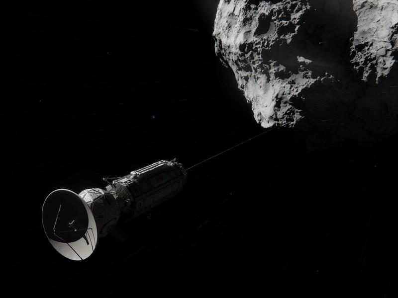 Tener una estación espacial dentro de un asteroide permitiría estar a salvo de la radiación del espacio y de hacer minería