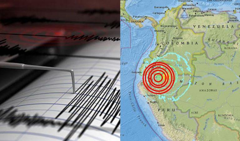 Intenso sismo de 7.7 en Ecuador alcanza a Perú, Brasil y Colombia