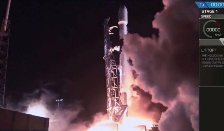 Israel lanza su primera misión a la Luna en un cohete de SpaceX
