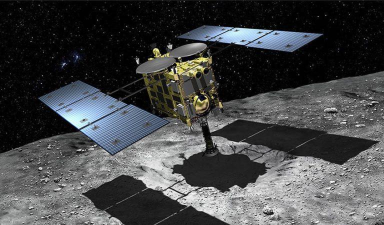 La nave Hayabusa 2 aterriza con éxito en el asteroide Ryugu