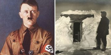 Marina Real británica descubrió una base nazi oculta en la Antártida, revelan documentos