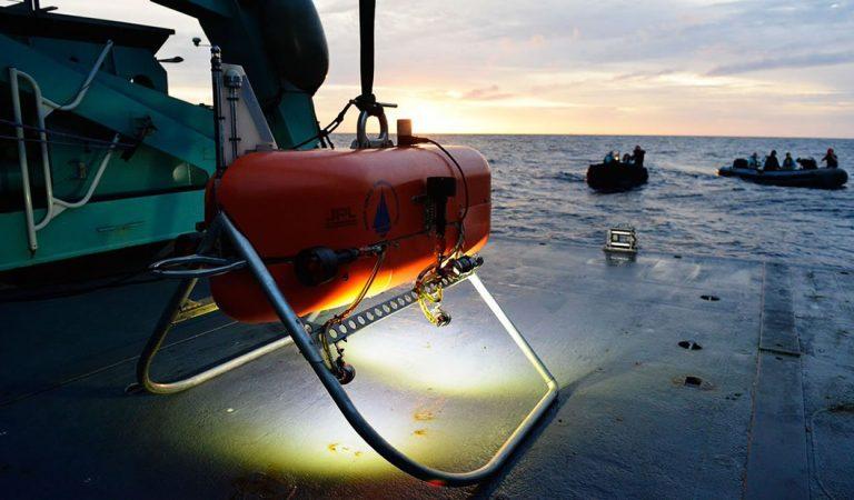Nuevo submarino de NASA podría eventualmente buscar alienígenas