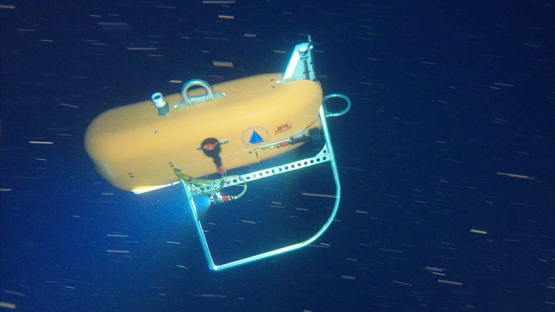 El vehículo no tripulado submarino Orpheus, se dirigirá a la zona hadal y explorará las profundidades del océano