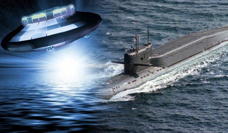 OSNI, OVNI sumergido, fue «retenido» en una costa por submarinos de EE.UU.