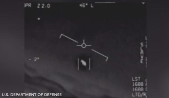 OVNI perseguido por la Fuerza Aérea de EE.UU.