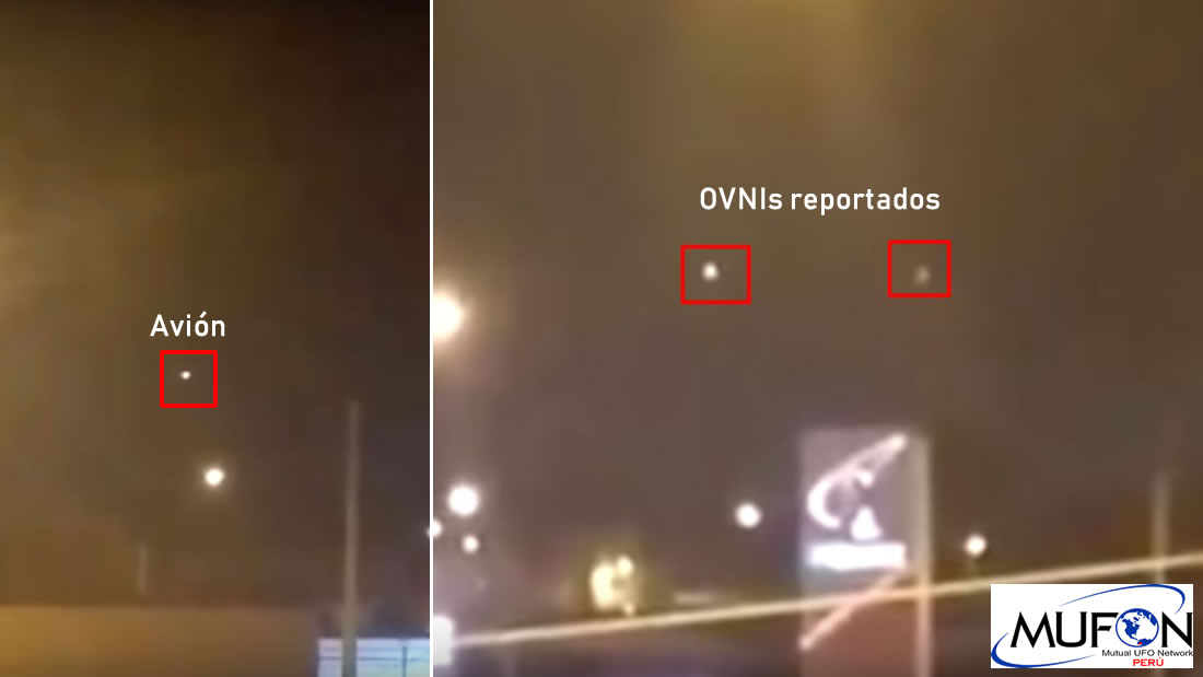 OVNIs reportados por personal del aeropuerto Jorge Chávez