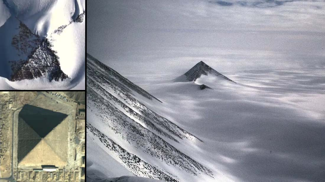 Pirámides en la Antártida: historia oculta y nuevos hallazgos