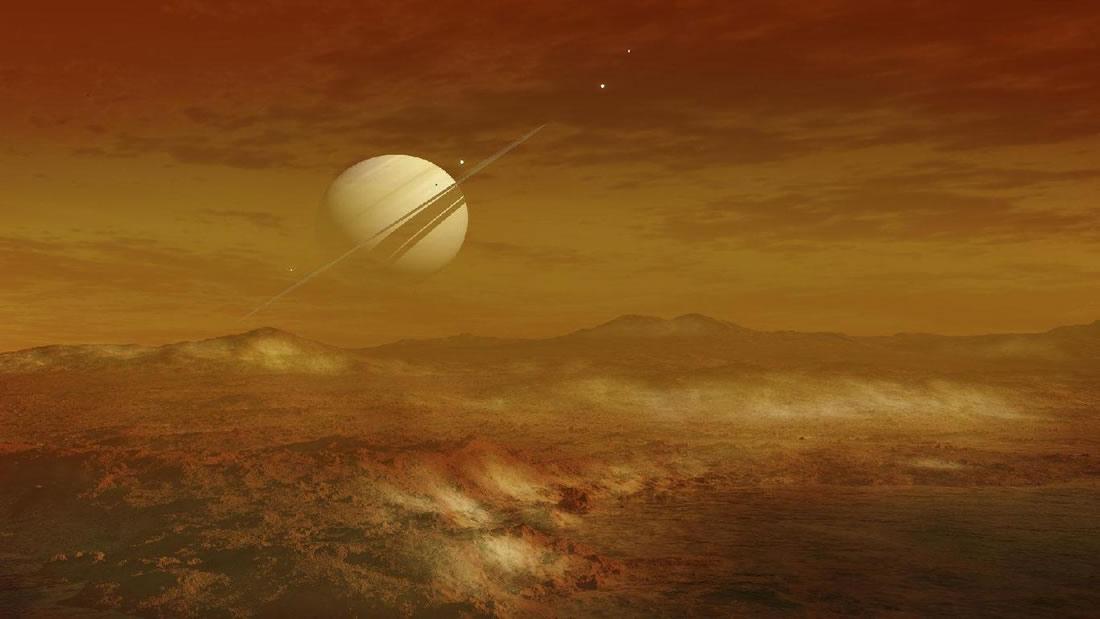 Podría existir vida extraña basada en el metano en Titán, dice científica de NASA