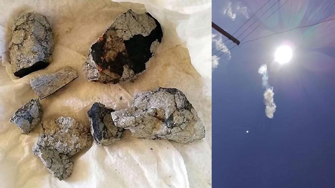 Realizan sorprendente hallazgo en el interior del meteorito que cayó en Cuba