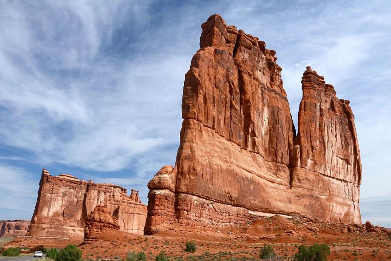 Los restos aparentes de la Torre de Babel