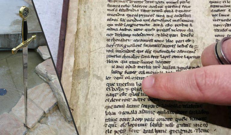 Rey Arturo, Merlín y el Santo Grial: hallan texto medieval en Inglaterra