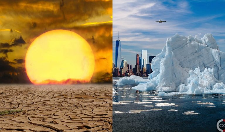 Si el mundo se calienta cada vez más, ¿por qué hace tanto frío en invierno?