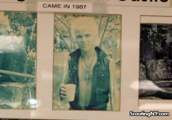 Billy Idol durante el rodaje de su icónico vídeo