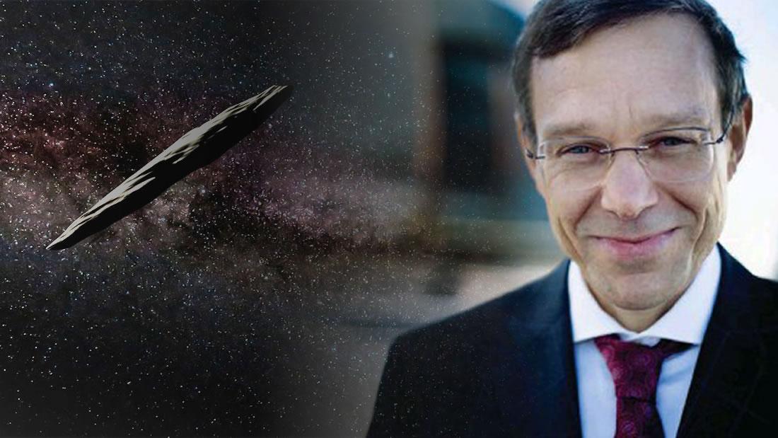 Una nave alienígena puede estar entre nosotros, dice el principal astrónomo de Harvard