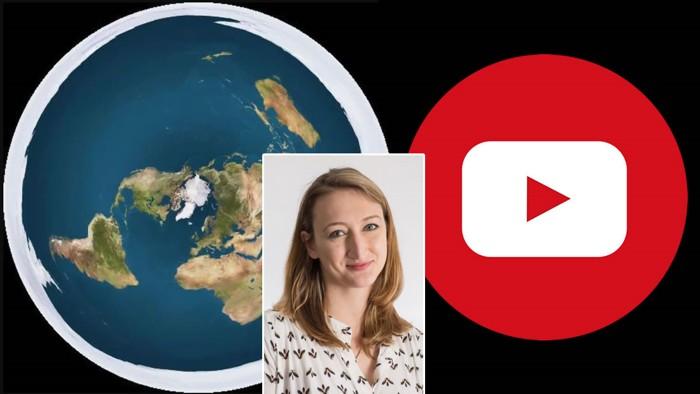 Asheley Landrum, líder del estudio realizado, dijo que algunas personas se «convencieron» erróneamente de que la Tierra es plana al ver vídeos en Youtube.