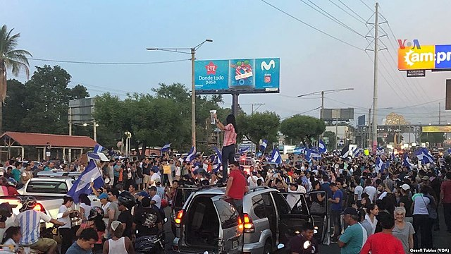 Protestas en Managua, 2018