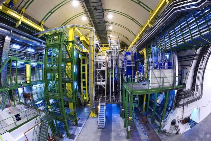 El detector de LHCb en el CERN