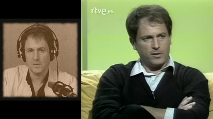 Andreas Faber-Kaiser en la radio y en un programa televisivo