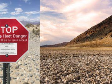 Aparece un lago gigante en el lugar más seco de América del Norte