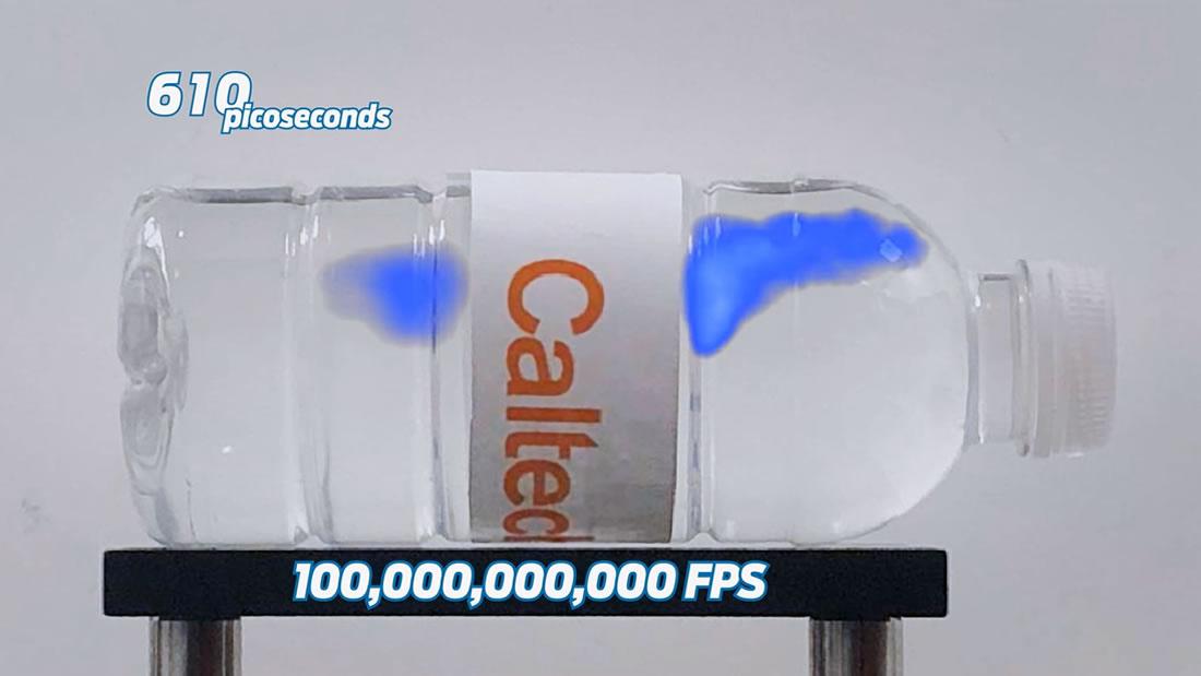 Así se ve la velocidad de la luz viajando a 10 billones de cuadros por segundo (Vídeo)